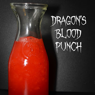 Dragon's Blood Red Halloween Punch