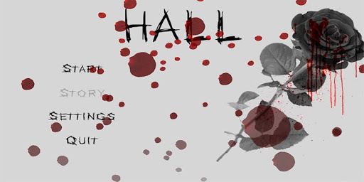 hall horror game screenshot 2