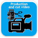Produce and trim video icon