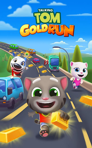 Talking Tom Gold Run screenshot 24