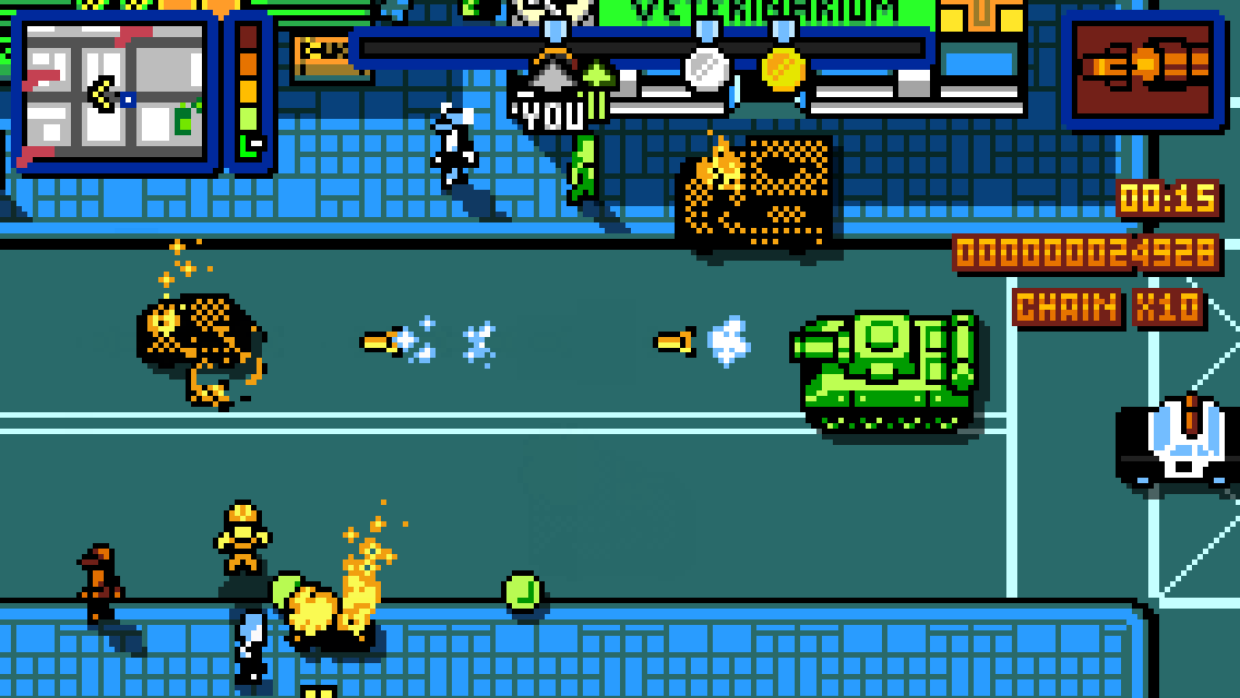 Retro City Rampage DX- screenshot