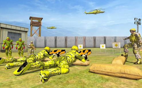 Super Light Speed Robot Training: Shooting Games for PC-Windows 7,8,10 and Mac apk screenshot 4