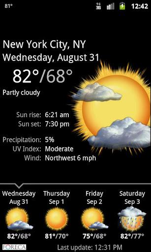 Palmary Weather screenshot 3