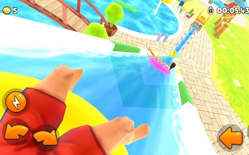 Uphill Rush Water Park Racing Screenshot
