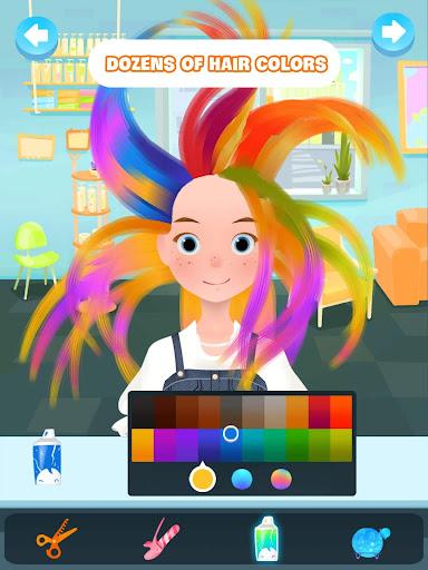 Hair salon games screenshot 9