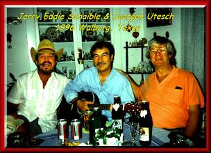 Photo: Jerry Cochran - Edde - Juergen Utesch Walburg Texas 1996