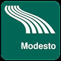 Карта Модесто оффлайн icon