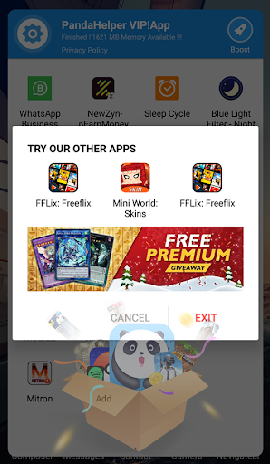 New Panda Helper! Game Booster VIP! Panda Helper VIP! v1.0.9.08 screenshots 3