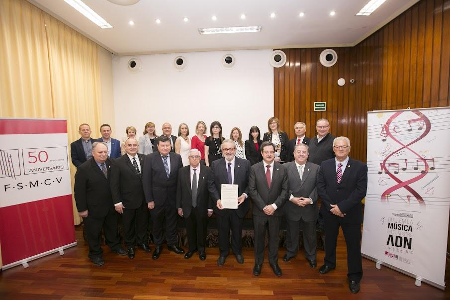 La FSMCV conmemora su 50º aniversario en el mejor momento de su historia