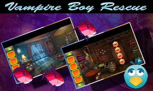 Best Escape Game 433 Vampire Boy Rescue Game 1.0.0 screenshots 1