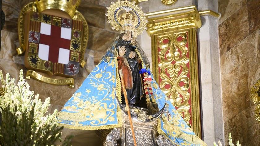 La Virgen del Mar irá a la Catedral este mes.