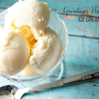 Homemade Vanilla Ice Cream With Eggs Recipes