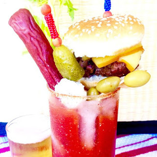 Loaded Bloody Mary, Minnesotta Style.