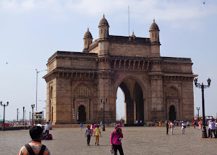 Photo: Gate of India - place to catch a ferry to Elephanta Cave in Mumbai
