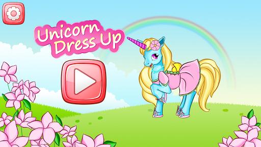 Unicorn Dress Up