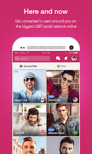 Moovz: Social Network for Gay, Lesbian, Bi & Trans- screenshot thumbnail