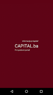 Capital.ba- screenshot thumbnail