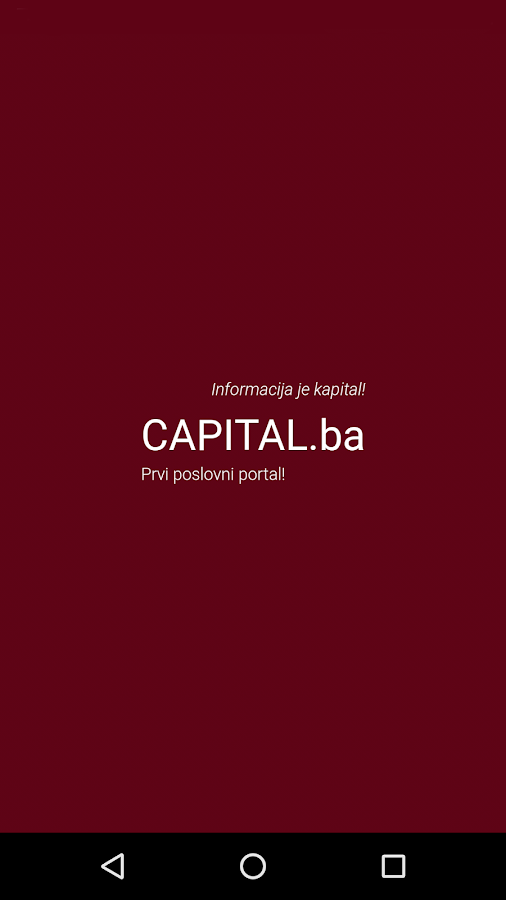 Capital.ba- screenshot