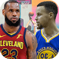 Lebron James Vs Stephen Curry: Basketball Photos APK