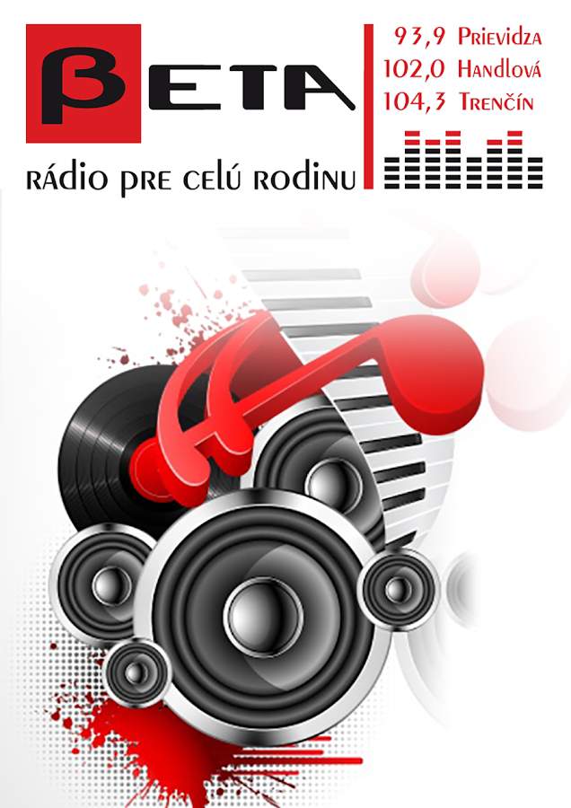 Rádio BETA- screenshot