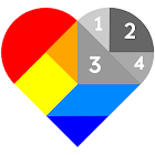 Tangram Color by Number - Poly Art Coloring Puzzle icon