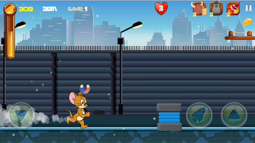 Adventure Tom and Jerry Run: Escape from Alien 1.0 screenshots 1