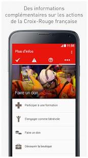 L'Appli qui Sauve: Croix Rouge– Vignette de la capture d'écran