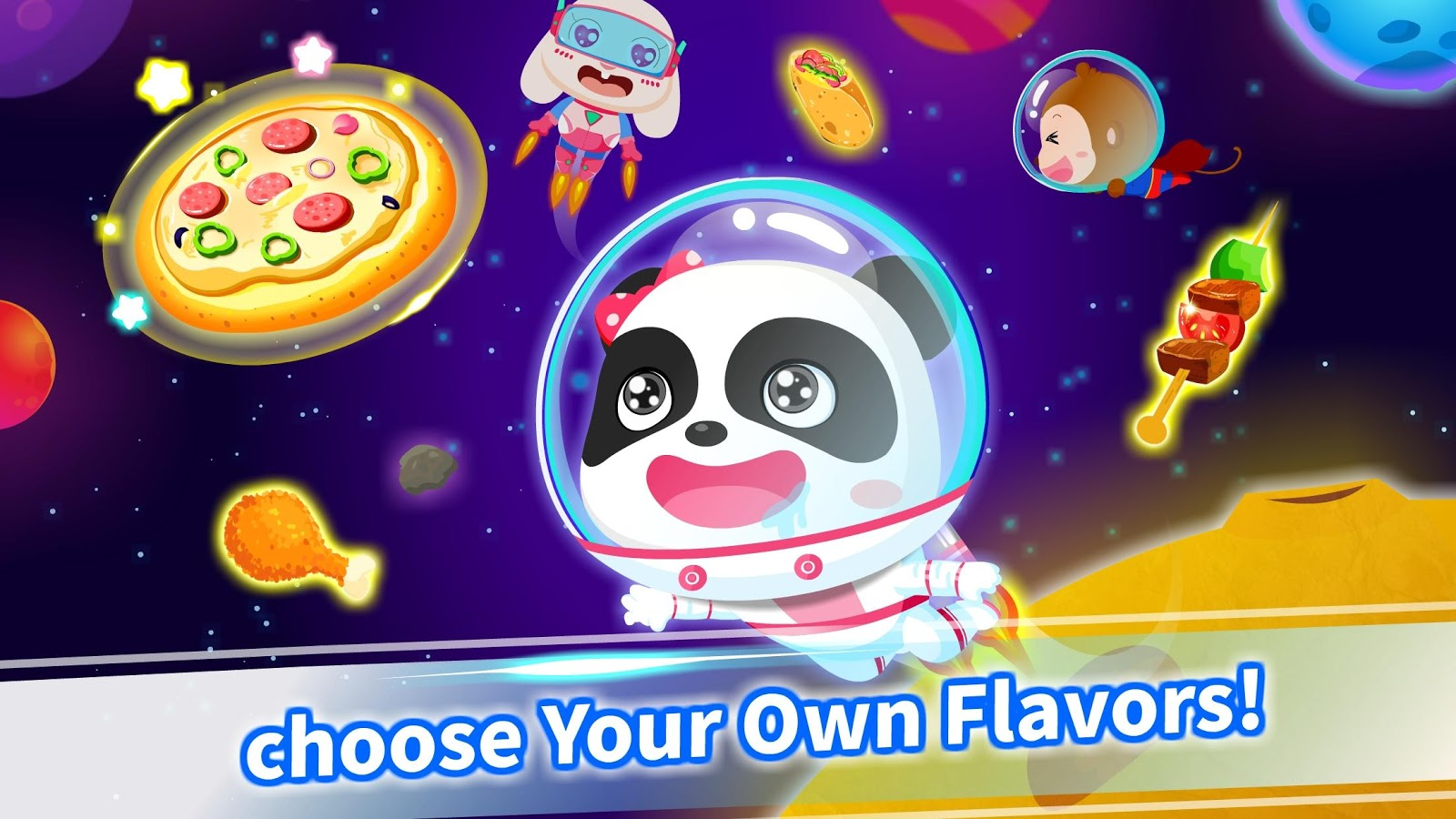 panda chef in robot kitchen kids cooking android apps on google play