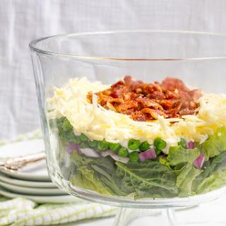 Healthier 7 Layer Salad.