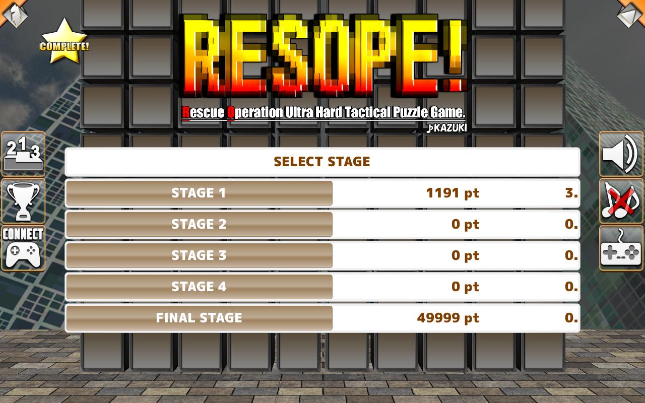 RESOPE! - screenshot