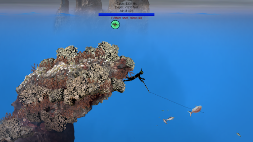 Pocket Diver - Spearfishing  screenshots 4