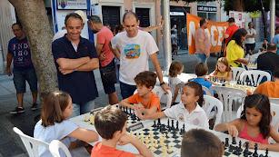Imagen de archivo del Torneo Infantil de Ajedrez de la Feria de Almería 2018.