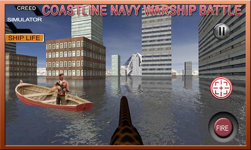 Coastline Navy Warship Battleship Fleet Simulator 1.0.1 3