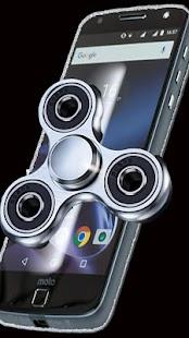 Fidget 3D Silver Spinner - náhled
