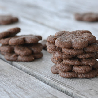 Mini Chocolate Cookies.