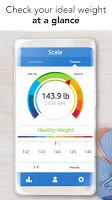 screenshot of Ideal Weight - BMI Calculator & Tracker
