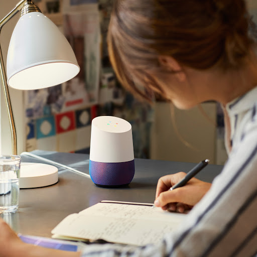 Google Home answers questions