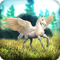 Flying Horse Simulator - New Unicorn Pegasus Sim icon