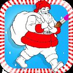 Santa Coloring Icon
