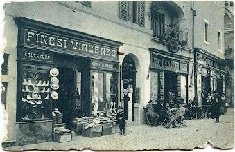 Photo: Corso Umberto I (Oggi Bruno Buozzi). inizi '900 [Per gentile concessione di Luigi Cimarra].