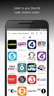 VRadio - Online Radio Player & Recorder Screenshot