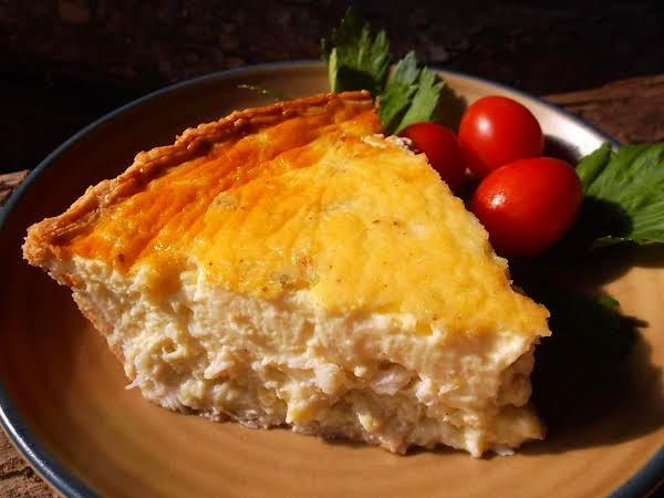 Landlocked Crab Quiche Recipe