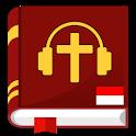 Audio Alkitab bahasa indonesia offline app mp3 icon
