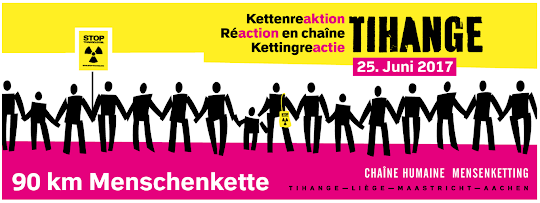 Banner: Kettenreaktion Tihange.