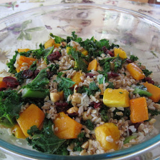 Butternut Squash and Farro Salad