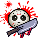DAY TO KILL The mask of death icon