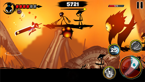 Code Triche Stickman Revenge 3 - Ninja Warrior - Shadow Fight APK MOD screenshots 5