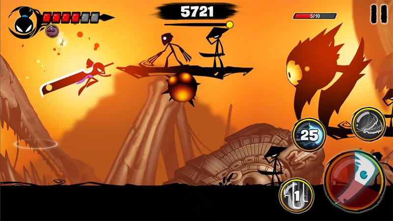 Stickman Revenge 3 - Ninja Warrior - Shadow Fight Screenshot 4