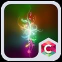 Dazzle Light  Neon Theme HD icon
