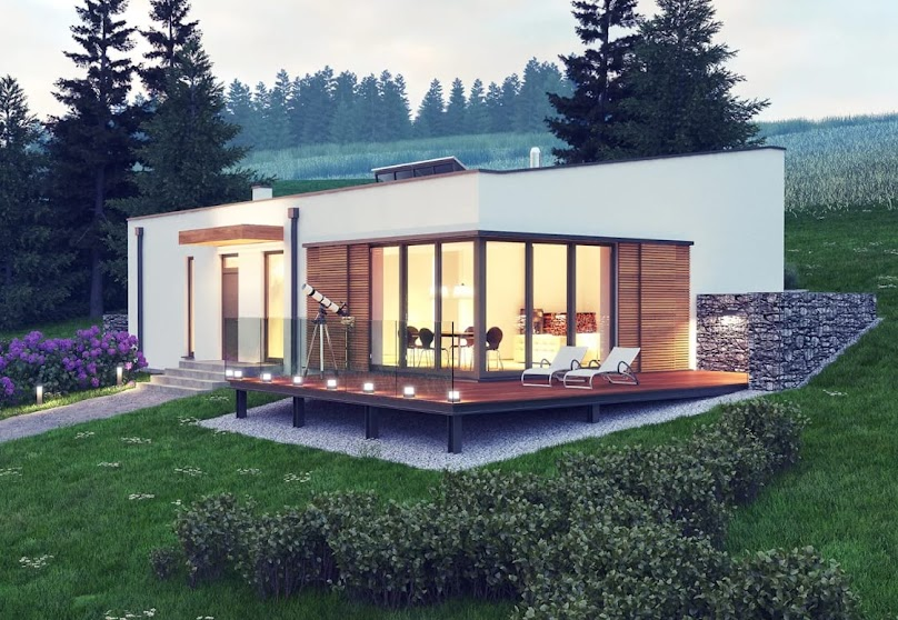 Przykład projektu domu z energooszczędnymi rozwiązaniami